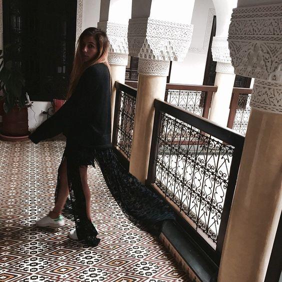 """""""Sundays... #fashionbakchic #kaftan #morocco"""" Photo taken by @bakchic_thelabel on Instagram"""