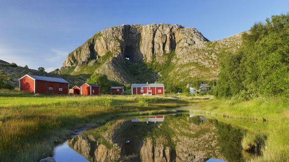 Torghatten, Norway