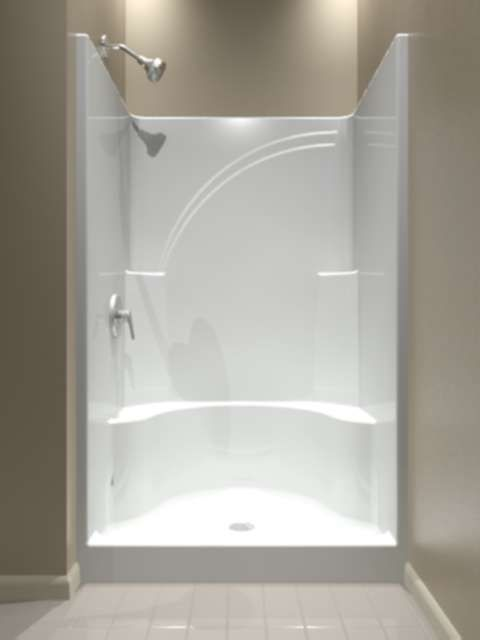 Best One Piece Corner Shower Unit Contemporary - Best image 3D ...