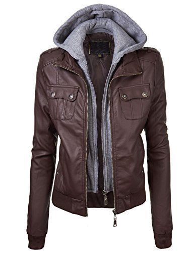 Lock and Love Women's Double Hoodie Faux Leather Jacket, http://www.amazon.com/dp/B00NGZZDC6/ref=cm_sw_r_pi_awdm_pwXnub0XGDDMT