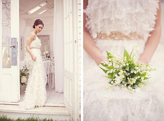 #kleiner #einfacher #Brautstrauß •  small and simple bouquet