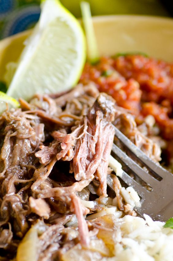 Slow Cooker Beef Barbacoa   Recipe   Slow cooker beef ...