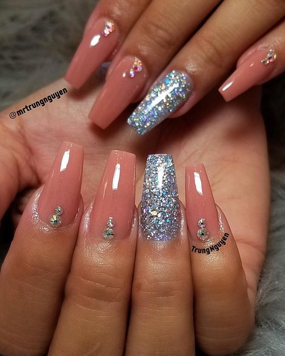 61 Coffin Gel Nail Designs For Fall 2018 You Will Love Fallnails Coffinnails Gelnails Jewenails In 2020 Gel Nails Nail Designs Gorgeous Nails