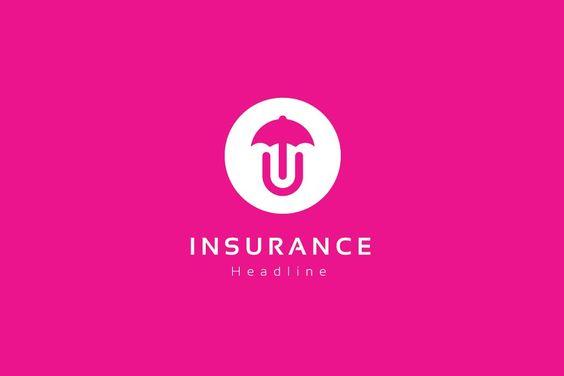 Insurance Logo Template In 2020 Logo Templates Logos Creative Logo