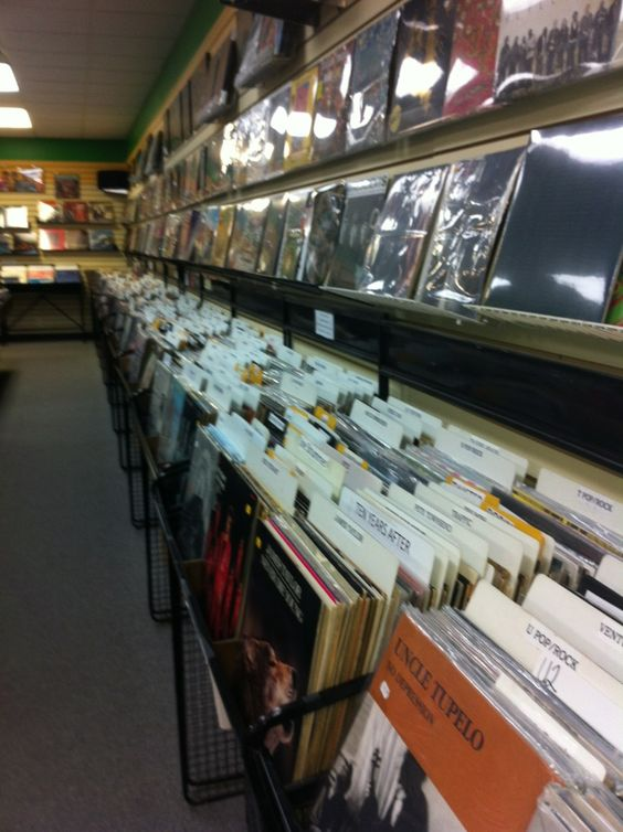 Scotti's Record Shop in Summit, NJ