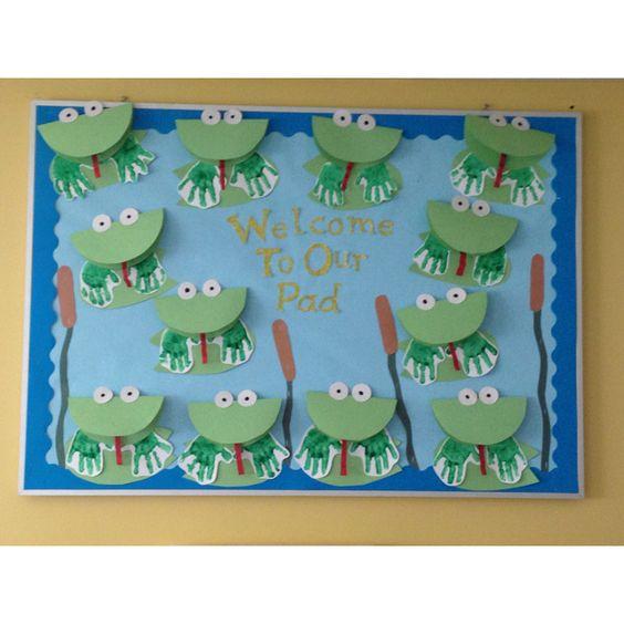 Bulletin Board Ideas 2 Year Olds: Preschool Pond Life