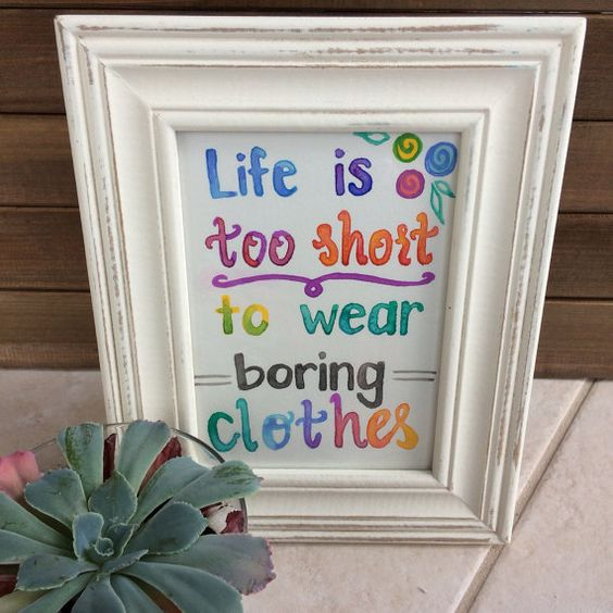 LulaRoe inspired Original Watercolor Quote  Life is by CoffeeOrDye