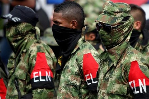 Siete guerrilleros del ELN se desmovilizan en el noreste de Colombia