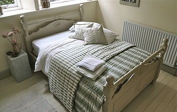Heavy Pine King Size Country Bed