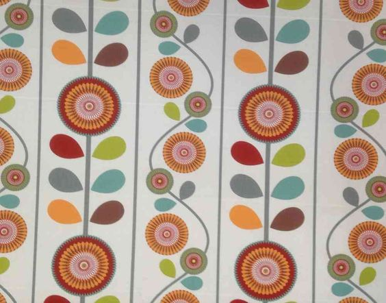 Chess Marigold Apricot | Textile Express | Buy Fabric Online ...