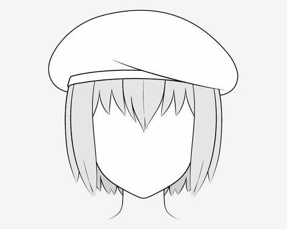 Vẽ mũi nồi anime