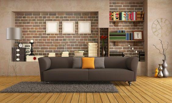 Tips para decorar una habitación con paredes de ladrillo - IMujer