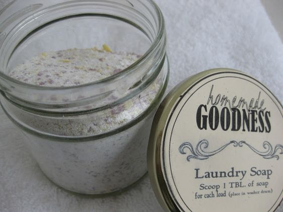 The Lioness at the Gate: Laundry Detergent Recipe