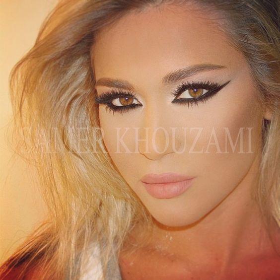#eyeliner #lashes #makeup  #Samerkhouzami