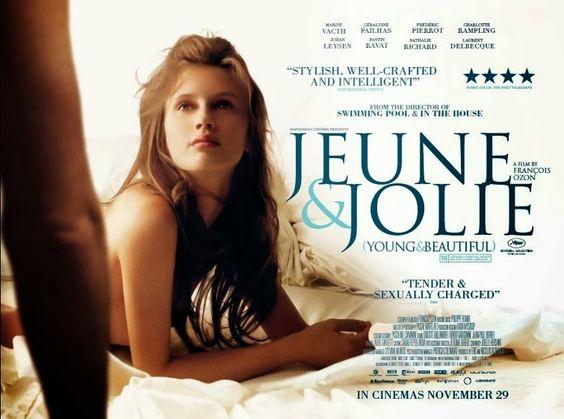 Jovem e Bela Título original: Jeune & Jolie Direção: François Ozon Elenco: Marine Vacth, Géraldine Pailhas, Frédéric Pierrot