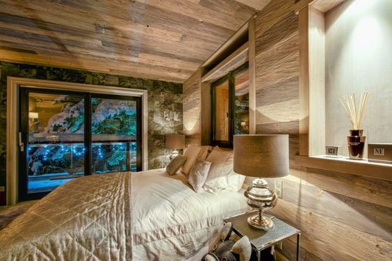 Chalets design and interieur on pinterest for Photo decoration interieure chalet