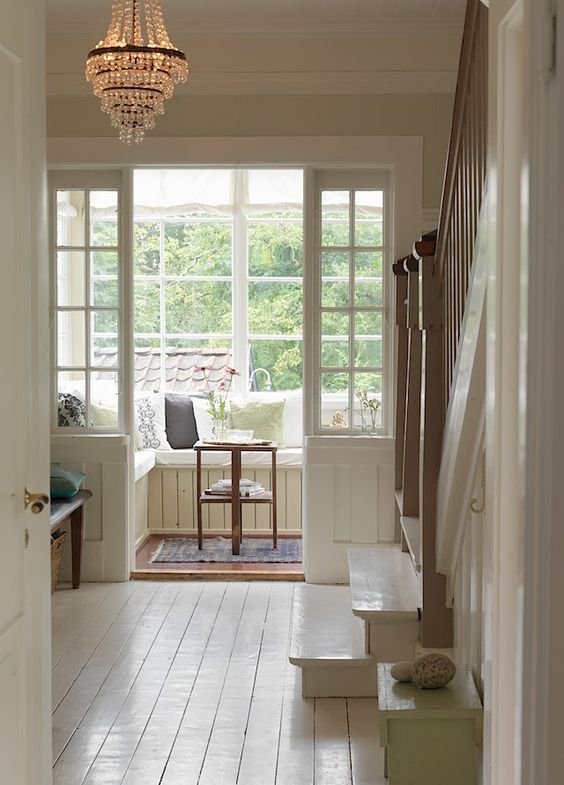 Love this reading/relaxing nook Please enjoy this repin! Be sure to visit my Facebook page: Stay Beautiful Within