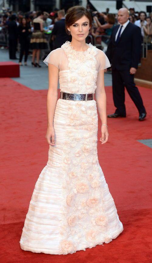 "Keira Knightley ""Anna Karenina""-Premiere in London in Chanel"