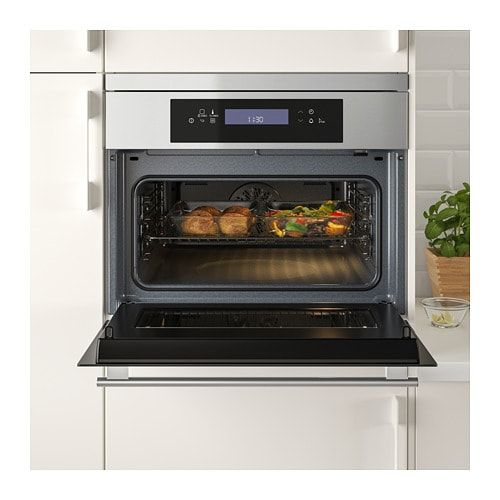 Kulinarisk Microwave Combi With Forced Air Ikea Ikea Kitchen Appliances Small Kitchen