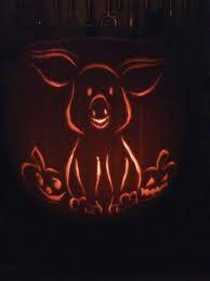 pumpkin carving pig - Google Search