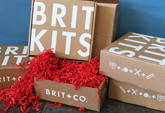 Stop pinning, start making! Brit Kits include materials for all your fave DIY projects, delivered monthly. Sign up now!