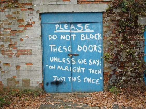 Please Do Not Block