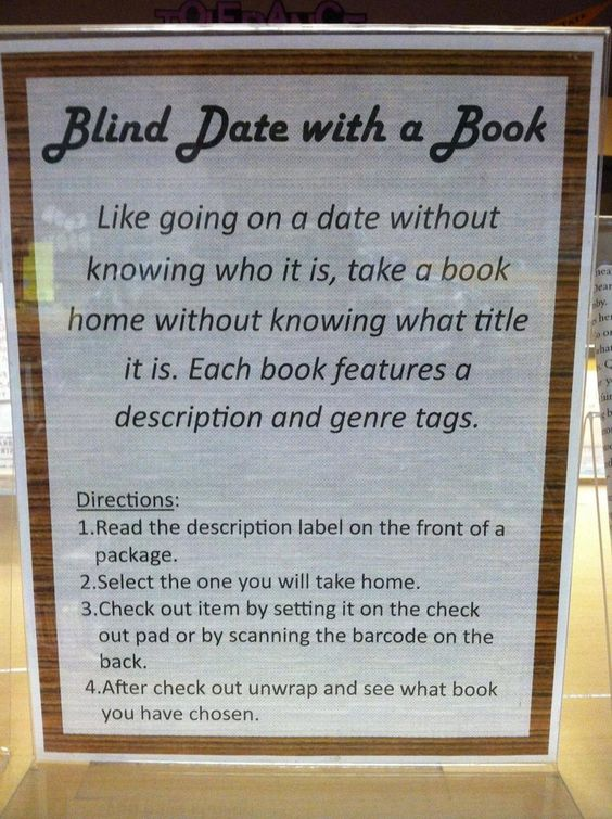 Are blind dates a good idea