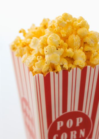 Cheese Popcorn Recipe - Cheesy Popcorn