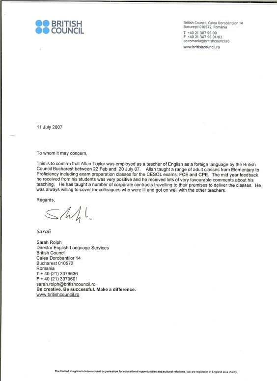 Illustration recommendation letter for research paper