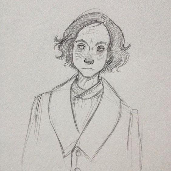 This guy! #characterdesign #sketch by sarah_mensinga