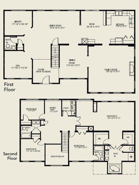 4 Bedroom House Plans 2 Story Home Planning Ideas 2017 In 2020 4 Bedroom House Plans Bedroom House Plans 6 Bedroom House Plans