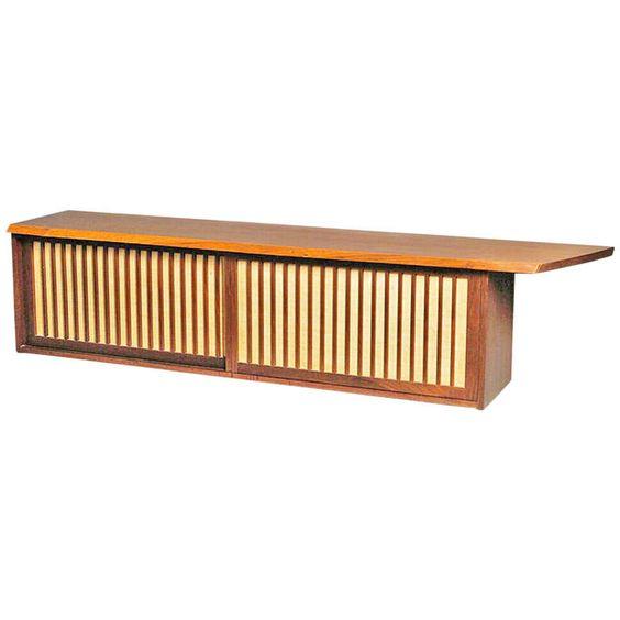 Wall Hung Cabinet by George Nakashima   1stdibs.com