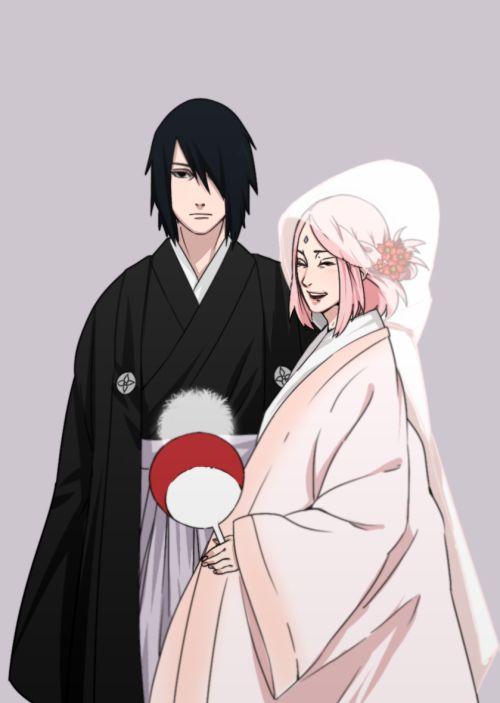 SasuSaku wedding day | SasuSaku&Sara Uchiha | Pinterest ...