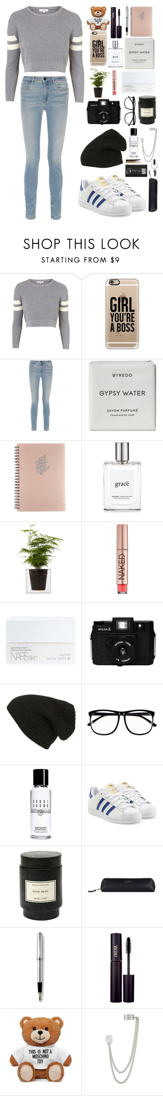 """Hayley"" by roxannecwl on Polyvore featuring Topshop, Casetify, Alexander Wang…"