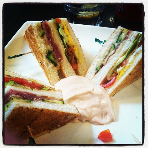 Love club sandwich.. <3
