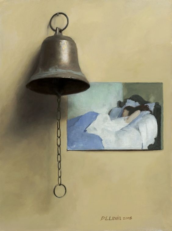 Oil painter Dana Levin