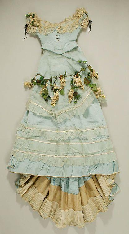 Dress - 1870  The Metropolitan Museum of Art