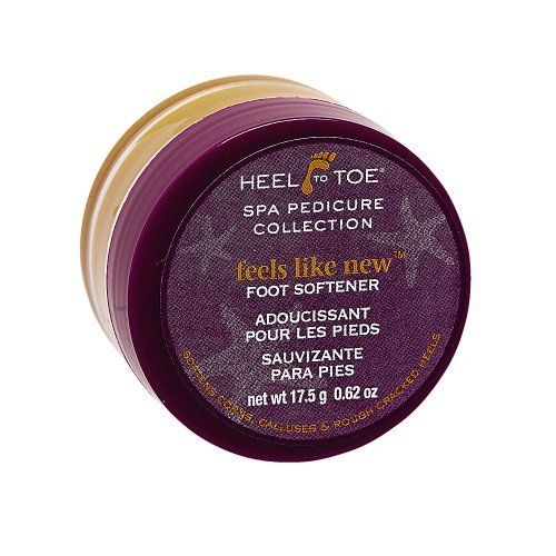 Heel To Toe Feels Like New Foot Softener by Heel to Toe. $2.59. Softens corns and rough cracked heels and calluses.