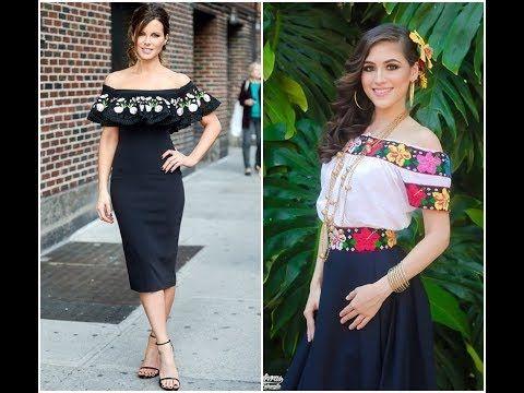 Outfits Para Fiestas Patrias Mexicanas Blusas Faldas