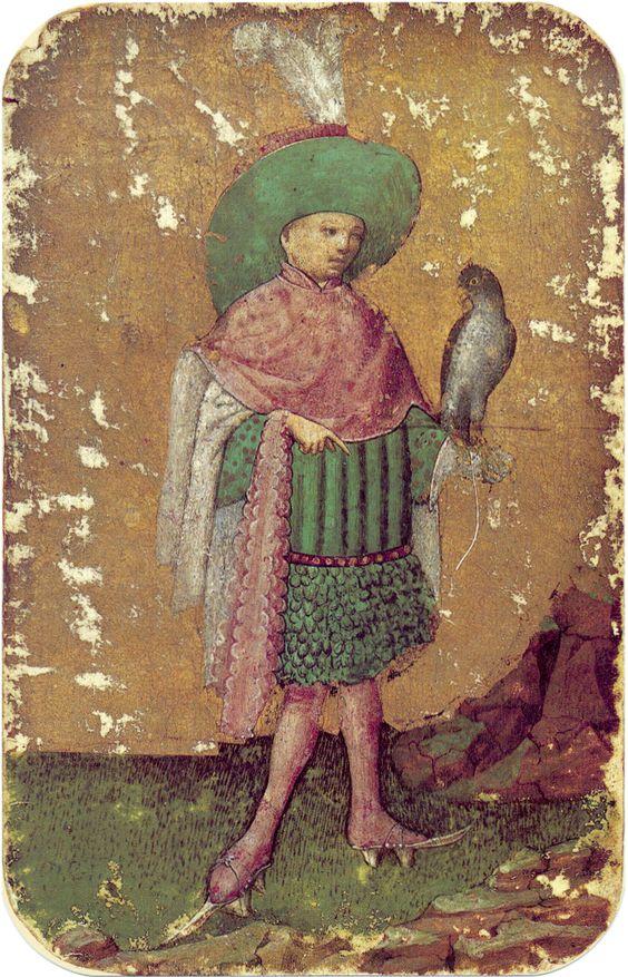 12 -- Stuttgart playing cards, ca. 1430