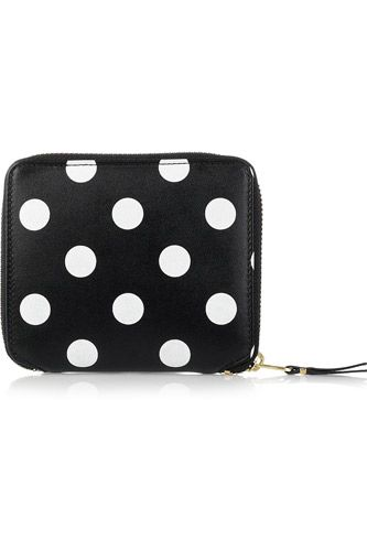 I adore this polka dot wallet from Comme des Garcons. Cute!