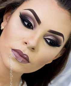 12 Maquillaje de noche para vestido negro