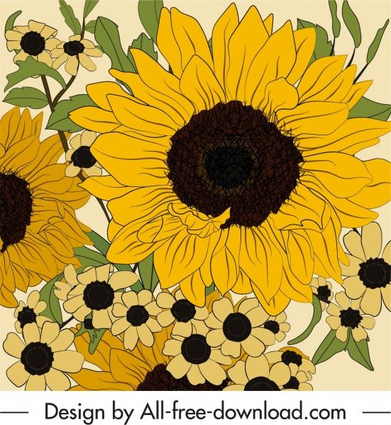 Paling Bagus 19 Gambar Bunga Matahari Sketsa Berwarna Seperti Yang Sudah Kami Sampaikan Bila Ga Menggambar Bunga Matahari Gambar Bunga Lukisan Bunga Matahari