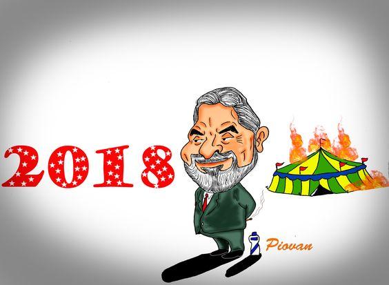 """""""Se for necessário, serei candidato em 2018"""", diz Lula  O ex-presidente Luiz Inácio Lula da Silva (PT) afirmou na manhã desta sexta-feira (28) que, se for preciso, poderá disputar a Presidência da República em 2018. Esta é a primeira vez que ele falou publicamente sobre a possibilidade de se candidatar.  """"Não posso dizer que sou, nem que não sou [candidato]. Sinceramente, espero que tenha outras pessoas para serem candidatas. Agora, uma coisa pode ficar certa. Se a oposição pensa que vai ganhar,:"""