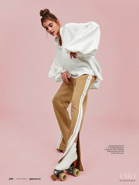 Zoet Houders in Glamour Netherlands with Romy Sch�nberger - (ID:32082) - Fashion Editorial | Magazines | The FMD #lovefmd