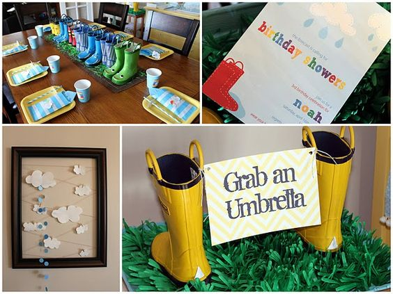 Too Stinkin' Cute: April Showers Party!