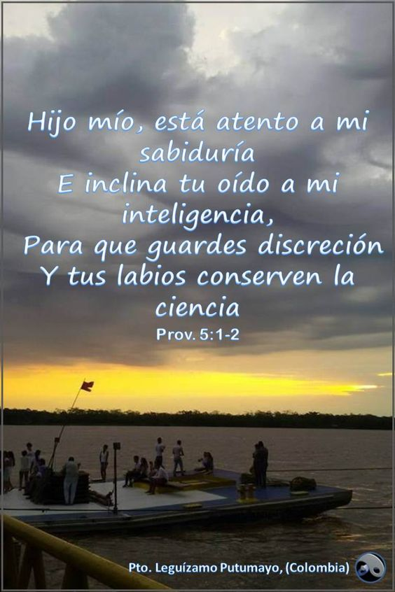 Proverbios 5:1-2