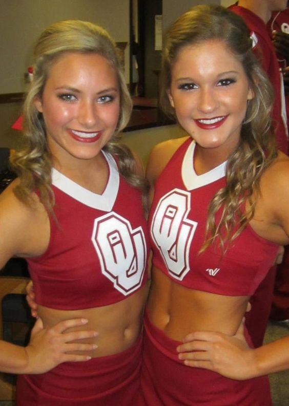 oklahoma university cheerleaders nude