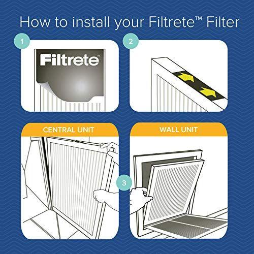 Filtrete 20x25x1 Ac Furnace Air Filter Mpr 2200 Healthy Living