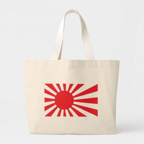 Japan Navy Flag Red Large Tote Bag Zazzle Com Large Tote Bag Large Tote Tote Bag